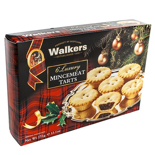 Walkers 6 Luxury Mincemeat Tarts | amazon.com