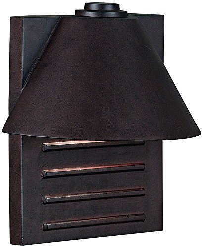 Fairbanks Dark Sky Bronze Finish 13″ High Outdoor Wall Light Review