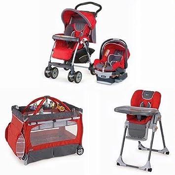 Amazon.com: Chicco Matching carriola Sistema High silla y ...