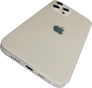 ReXiHe Dummy iPhone 12 Pro Fake Phone Dummy Display Phone Model for Apple iPhone 12 Pro Silver Non-Working Replica Phone