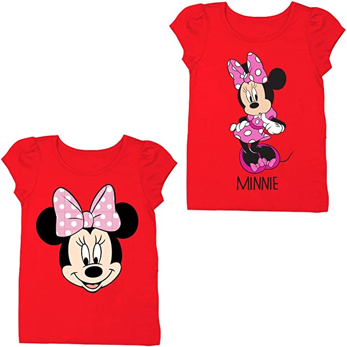 Genuine Disney Minnie Mouse What/'s Not to Love Pink Girls Fashion Tee free ship