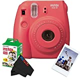 Fujifilm Instax Mini 8 Instant Film Camera Bundle - Raspberry 16443917
