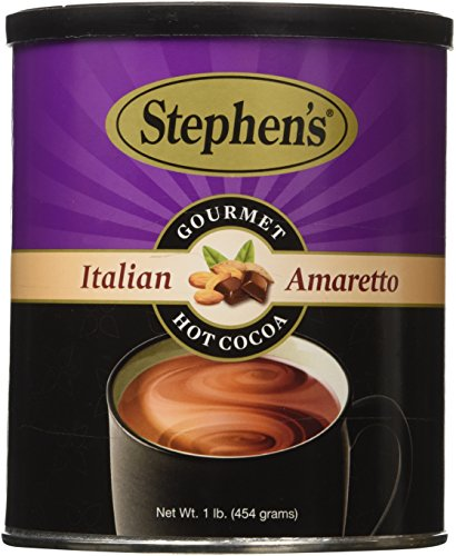 Stephen's Gourmet Italian Amaretto Hot Cocoa 1 LB (Sipping Cocoa)