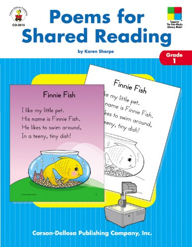Download Poems for Shared Reading: Grade1 (Four-Blocks Literacy Model) PDF