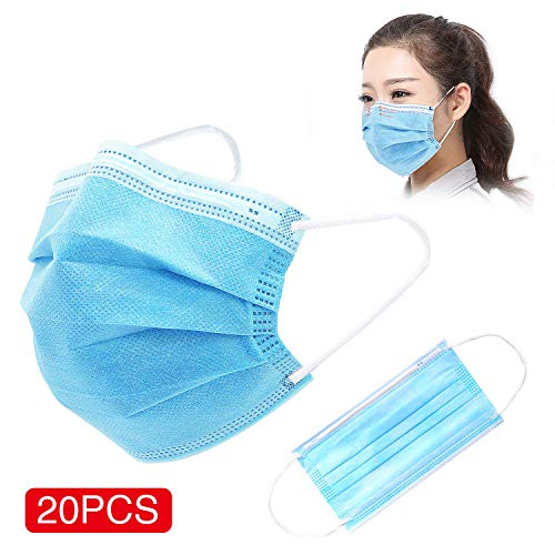 TIANLI Disposable 3 Ply Protection Daily Use Cover 20 PCS