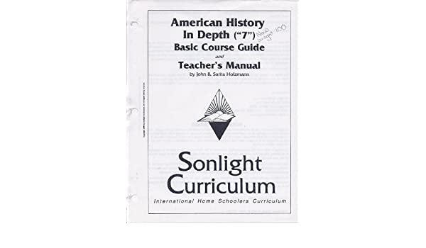 American History in Depth, Sonlight Curriculum, Instructor's Guide ...