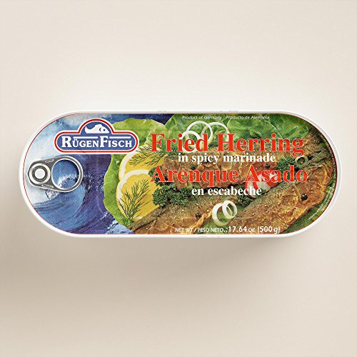 - RugenFisch Fried Herring, Set of 6(17.6 oz)