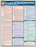 Essays & Term Papers (Quickstudy Reference Guides - Academic)