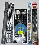 "Standard Shower Kit 6 in 1 with 2 - Extra Pre-Pitch Sticks ""STD-201"" + 2 Quick-Pitch Extra Float Sticks XFS-101.2 Sticks …"