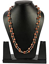 Gold Sunstone Strand 44 inches long, Natural and Genuine Gemstone Fashion Jewelry by Gempro