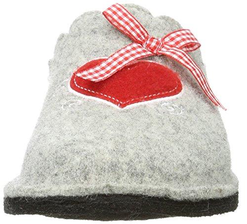Femme Gris Supersoft Grey Pantoufles 202 522 Rouge 226 UttxqXACw