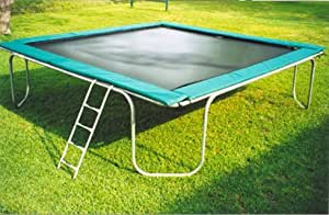 Texas Giant 15 ft Square Trampoline