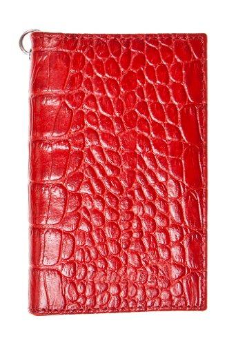WalletBe Women s Leather Keychain Wallet Small Ferrari Red - Buy ... 512cc25981