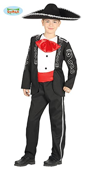 Disfraz de Mariachi Mexicano para niño  Amazon.es  Juguetes y juegos 554a6f22126