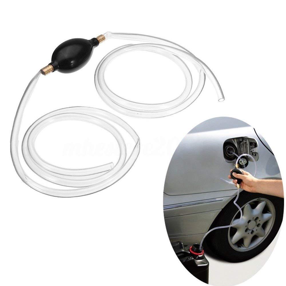 PVC Auto Hand Siphon Pumpe Rohr Hand Prise Typ Gas Wasser /Ölpumpe Handpumpe Aquarium Wasser Einlassschlauch Fl/üssigkeits/übertragungspumpe Rohr