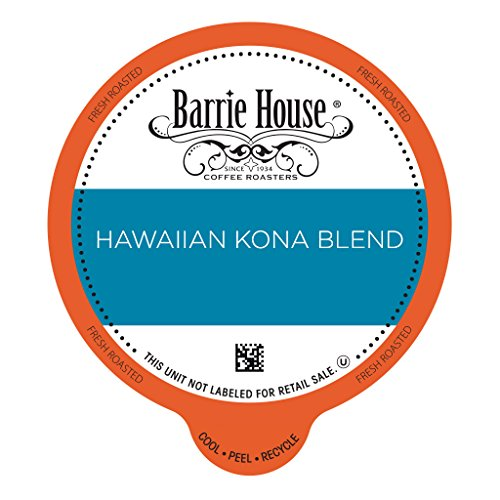 Barrie House Hawaiian Kona Blend Coffee Value Pack Capsules 80 ct ()