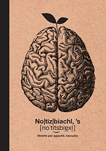 Notizbiachl: libretto per appunti, taccuino Hanspeter Demetz