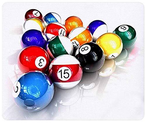 Billiards Balls Pool Gaming Mouse Pad Mousepad (Billiards Billiard Balls Pool)