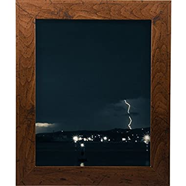 Craig Frames FM26WA1114C 1.26-Inch Wide Picture/Poster Frame in Smooth Grain Finish, 11 by 14-Inch, Dark Brown