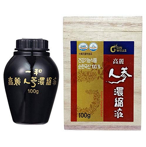 Cheap ILHWA 3.5oz(100g) Korean Ginseng Concentrated Pure Extract, 13% Ginsenosides, Panax (Parallel Import)