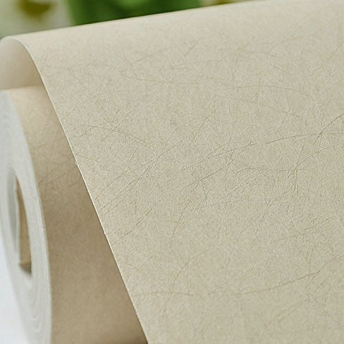 ZEM-PXD Simple Solid Matte Silk Non-Woven Wallpaper Wallpaper Bedroom Tv Background Wall Plain Paper S