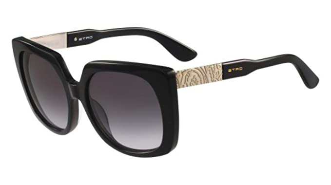 Amazon.com: anteojos de sol Etro et 621 S 001 negro: Clothing