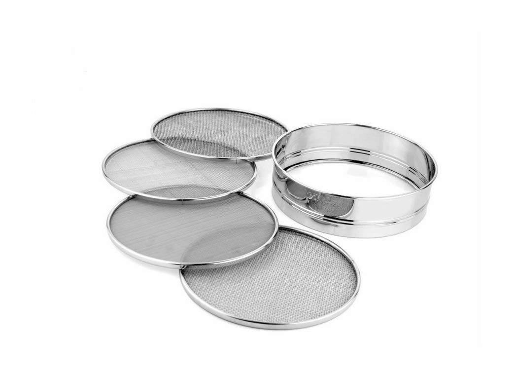 5pc Stainless Steel 8.25 inch Mesh Sieve or Sifter, Quick Delivery by $/Reliable