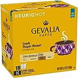 Gevalia Dark Royal Roast Coffee K-Cup Pods 18 Count Box (Pack of 2)