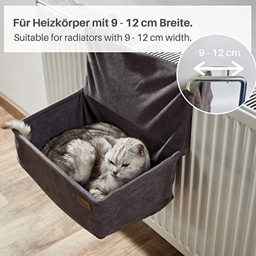PiuPet® Cama gato radiador - adecuado para muchos radiadores ...