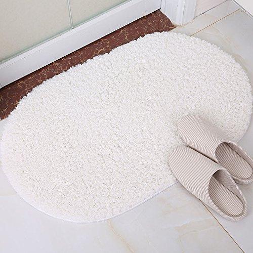 GRENSS Farbe Oval Willkommen Fußmattensatz weichen, saugfähigen Teppiche Warme Warme Warme farbenfrohe Badezimmer Fußmatten Wohnzimmer Anti-Slip Teppich, Kaffee, 60 x 160 cm B079L1FS69 Duschmatten f89a58