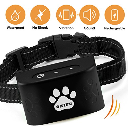 ONIPU Bark Collar, No Bark Collar,Safe and Huma...
