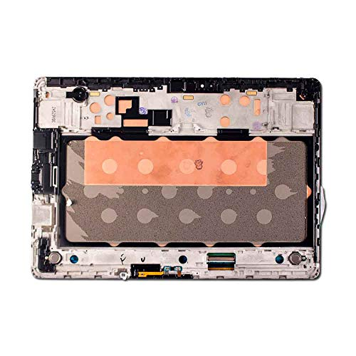Group Vertical Replacement Screen Complete Frame LCD Digitizer Assembly Compatible with Samsung Galaxy Tab S 10.5 (SM-T800, 805, 807, 807P,807V) (10.5'') (Titanium Bronze) (GV+ Performance) by Group Vertical (Image #1)