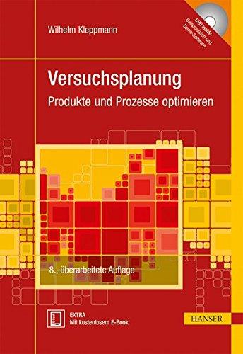 Versuchsplanung: Produkte und Prozesse optimieren Taschenbuch – 5. September 2013 Wilhelm Kleppmann 3446437525 Optimierung Statistische Versuchsplanung