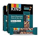 KIND Bars, Dark Chocolate Nuts & Sea Salt, Gluten