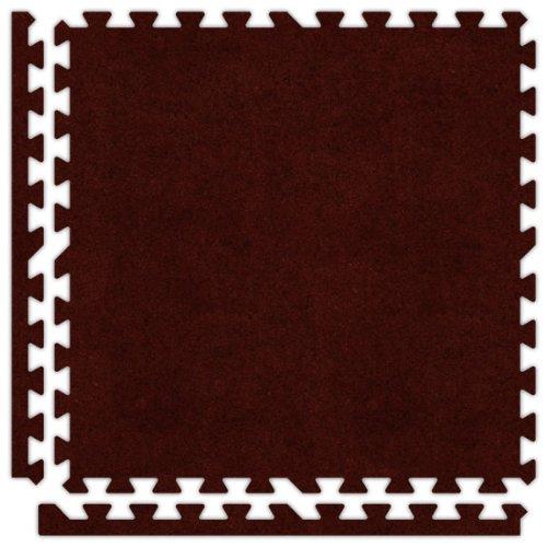 (Alessco SCBY0606 Premium Softcarpets Tile Set, 6' x 6',)