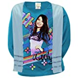 iCarly - Rainbow Stripe Girls Youth Long Sleeve with Scarf