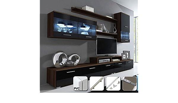 muebles bonitos - Mueble de salón Claudia Mod.11 Puertas PVC ...