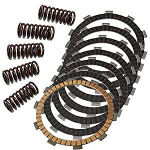 Amazon.com: Caltric CLUTCH FRICTION PLATES & 5 SPRINGS Fit