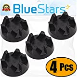 Ultra Durable 9704230 Blender Drive Coupling Replacement Part by Blue Stars – Exact Fit For KitchenAid Blenders – Replaces WP9704230VP WP9704230 - PACK OF 4