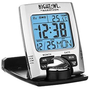 brookstone travel alarm clock instructions