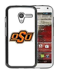 Moto X Case,100% brand new NCAA Big 12 Conference Big12 Football Oklahoma State Cowboys 4 Black Case For Moto X