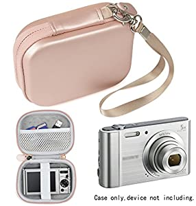 WGear Digital Camera Case for Sony W800/S, DSCW830; Canon PowerShot ELPH180, ELPH 190, ELPH 350 HS, ELPH 310 HS, ELPH 360; Kodak PIXPRO Friendly Zoom FZ43, FZ53-BL; Nikon COOLPIX L32