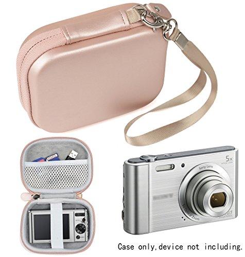 WGear Digital Camera Case for Sony W800/S, DSCW830; Canon PowerShot ELPH180, ELPH 190, ELPH 350 HS, ELPH 310 HS, ELPH 360; Kodak PIXPRO Friendly Zoom FZ43, FZ53-BL; Nikon COOLPIX L32
