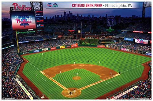 Citizens Park Phillies Bank - Trends International Philadelphia Phillies - Citizens Bank Park Wall Poster 22.375