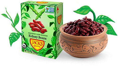 Jacks Quality Bean Rd Kdny Lw Sodium Or by JACK'S QUALITY