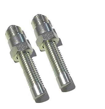 Pack de 2 de punto muerto superior localizador tornillo Bujía Para 14 mm perno: Amazon.es: Coche y moto