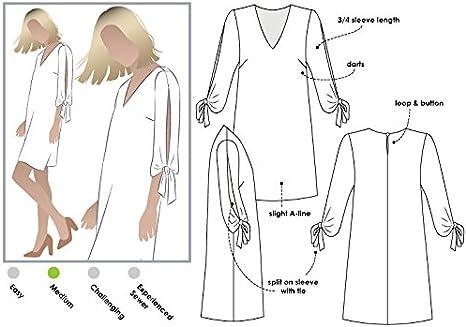 Sizes 04-16 Schnittmuster von Arc f/ür das stylische Marilyn Kleid