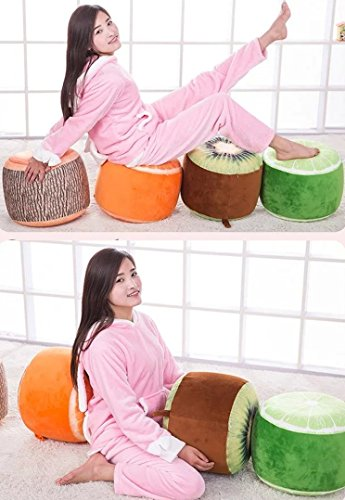 Oisk Portable Fruit Stool ,Inflatable Chair , Bean Bag Sofa for Adults,Teens and Kids, Perfect for Indoor and Outdoor Use Inflatable Seats+free inflator