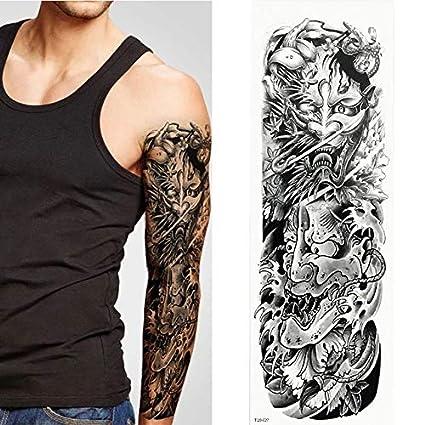 Tatuaje temporal a prueba de agua pegatina brazo grande manga ...