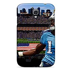 New Premium Flip Case Cover Tennessee Titans Skin Case For Galaxy S4